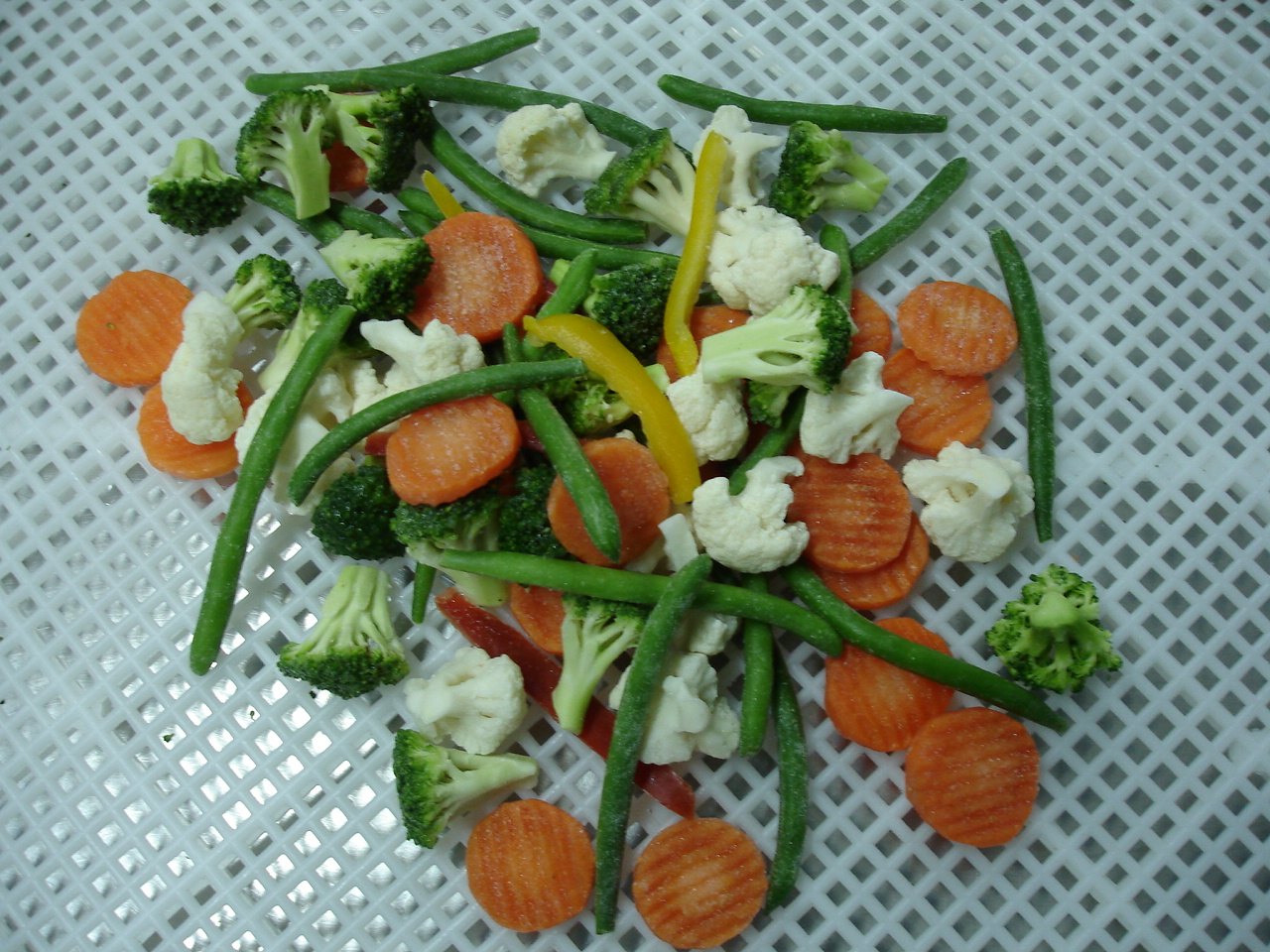 Organic vegetable blend